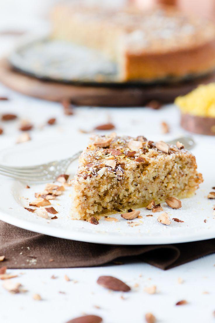 The Adventures of Bob & Shan - Flourless Lemon & Ricotta Almond Cake