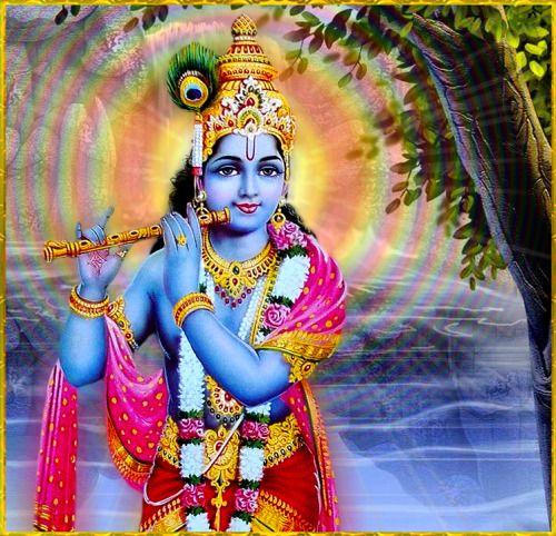 Krishna's virtuous aura