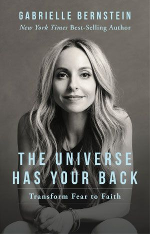 "Best-selling author and self-proclaimed ""spirit junkie"" Gabby Bernstein wants to help folks transform fear into faith."