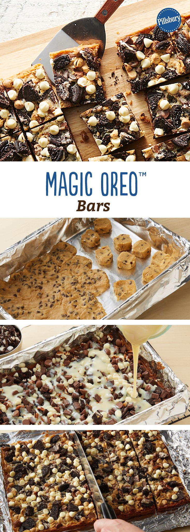 Magic Oreo™ Bars: An extra-magical take on a seven-layer bar, this easy Oreo™ bar will be a huge hit with your family.