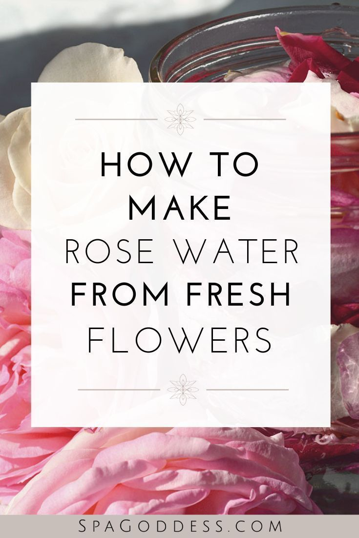 Diy Skincare Recipes How To Make Old Fashioned Rosewater