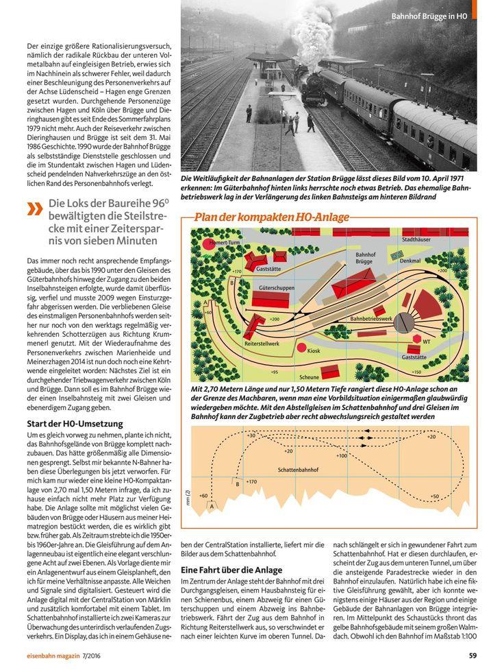 Eisenbahn modellbahn magazin 2016 07