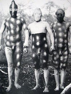 human canvas-selknam