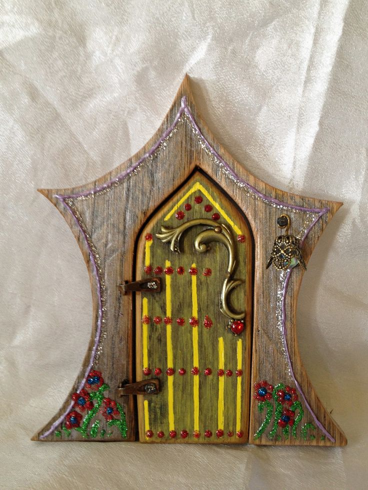 Hand Painted Fairy Doors