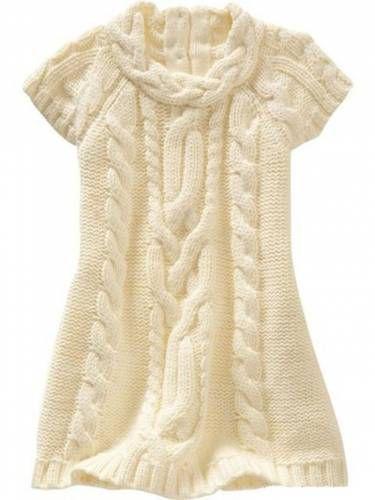 Вяжем платье для девочки спицами | Вязание Для Детей