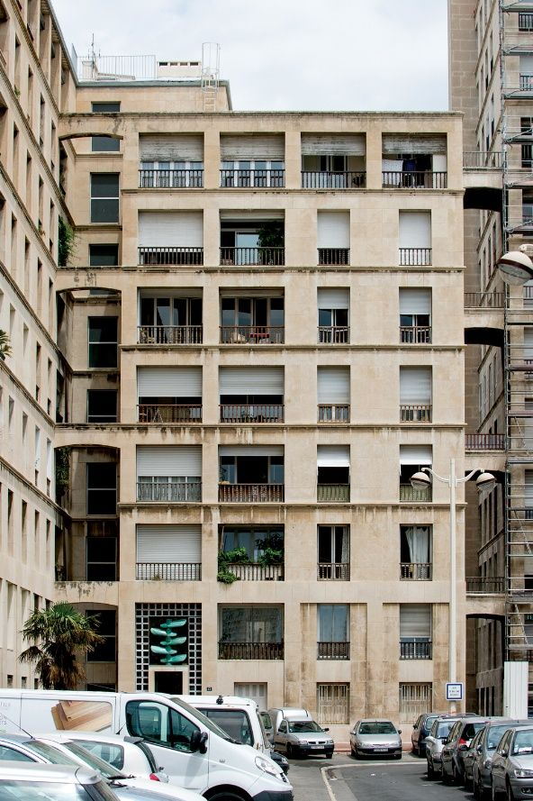 La Tourette&Vieux Port, Marseille by Fernand Pouillon