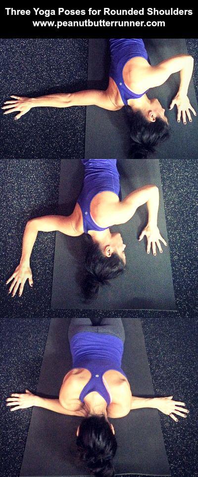 3 Yoga Poses for Tight, Rounded Shoulders | Peanut Butter Runner | Bloglovin'