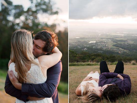 Bethany and Riordans Romantic Tamborine Mountain Engagement Photos