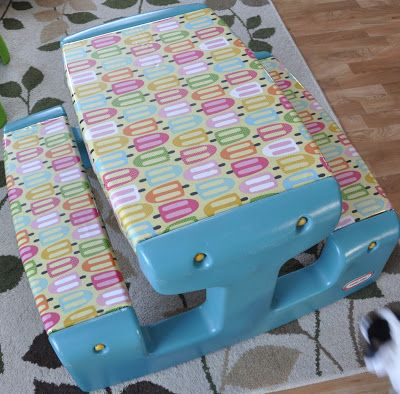 Caroline's Crafty Corner: picnic table redo