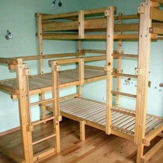 triple loft bunk beds kids