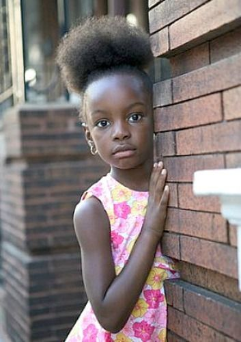 Surprising 1000 Images About Little Black Girl Hairstyles On Hairstyle Inspiration Daily Dogsangcom