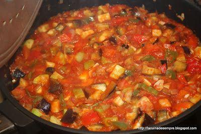 La cuina de sempre: Bacallà amb samfaina