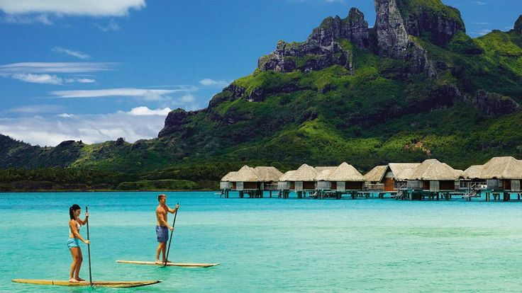 View photos and videos of Four Seasons Resort Bora Bora, a five-star luxury resort on the most famous of French Polynesia's Leeward Islands.