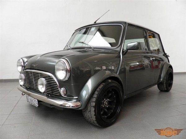 Nos réalisations - Mini Cooper MPI Aston Vintage