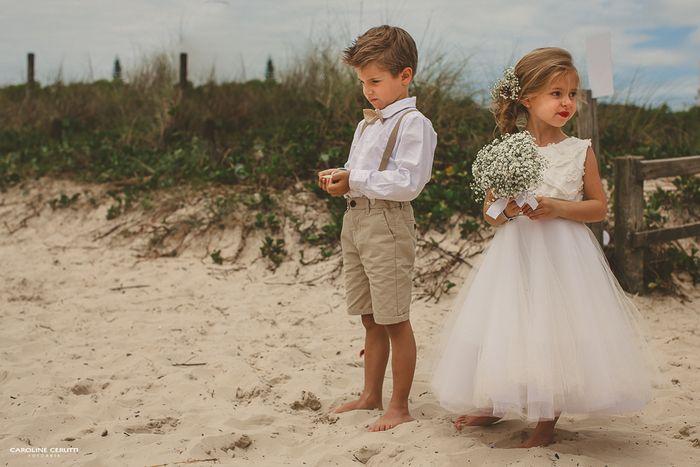 Casamento Na Praia | Noiva de Evasê | Blog de Casamento