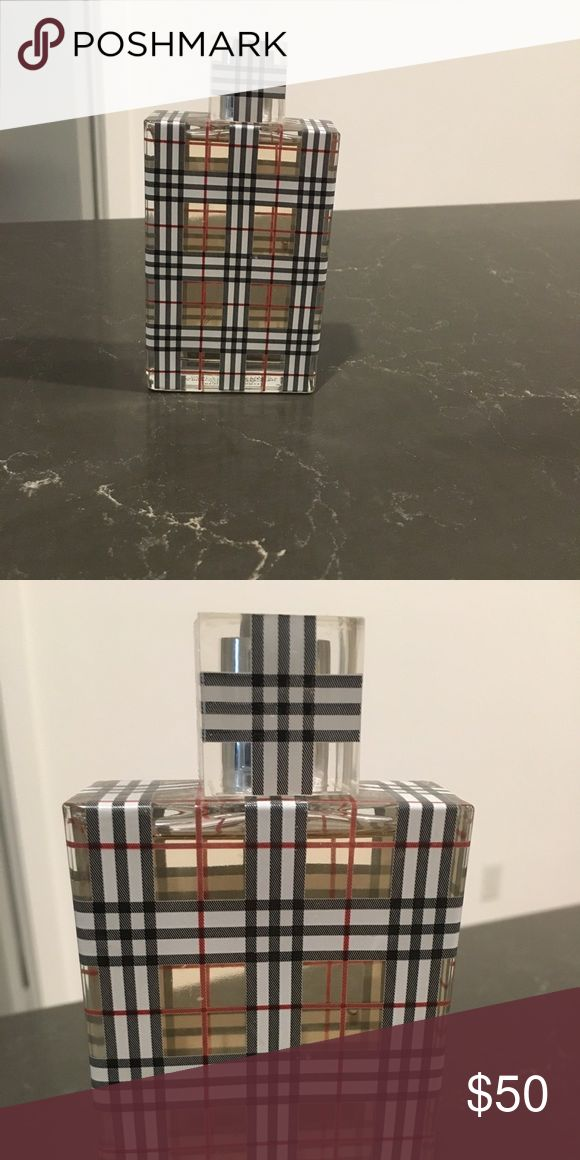 Burberry Brit 3.3 FL OZ EAU DE PARFUM PARIS Pretty much full bottle. Got as a gift, tried it once or twice. Not my type of smell. Burberry Makeup