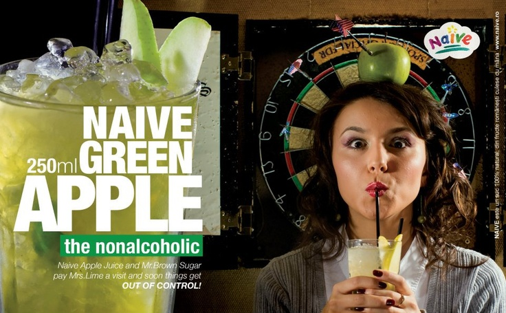 Naive Green Apple.  The nonalcoholic.