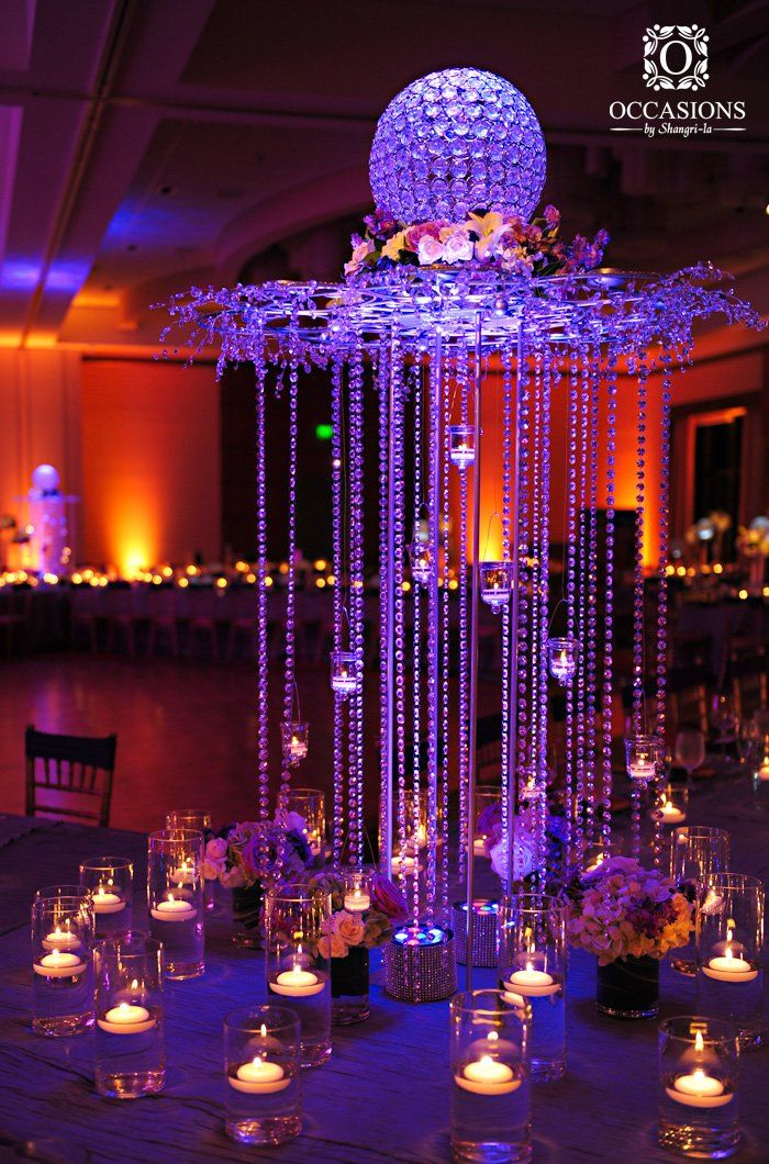 17 best crystal centerpieces images on pinterest event decor occasions by shangri la a full service event decor and floral company based out junglespirit Gallery