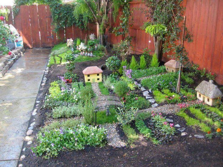miniature garden village waldorf garden pinterest