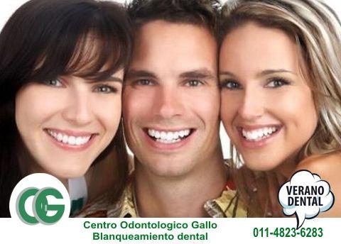 Verano Dental Centro Odontologico Gallo Blanqueamiento Dental Laser Tel. 011 4823-6283