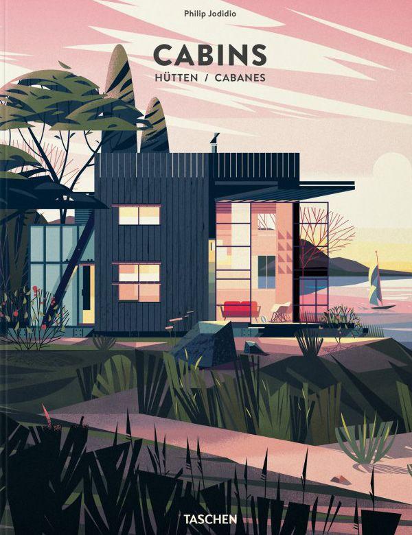 Cruschiform's idyllic illustrated cabins