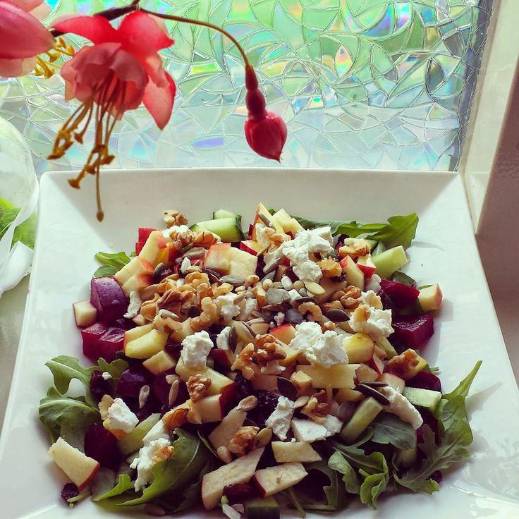 Life is what you're cooking : Salade met Bietjes en Appel
