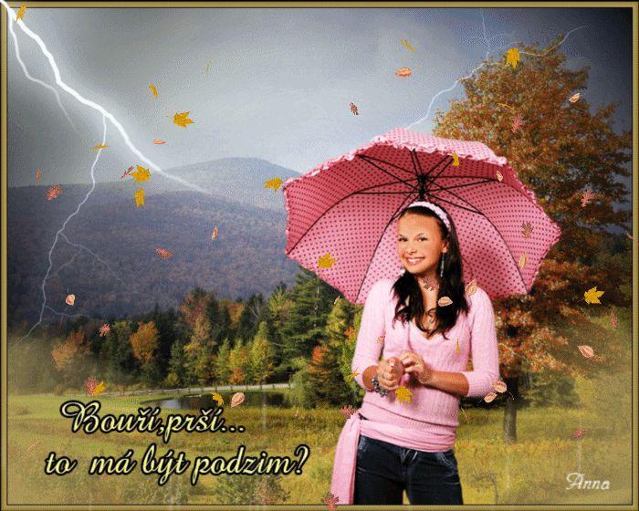 Jesenná búrka s úsmevom na tvári :)