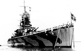 Classe Littorio, nave da battaglia.