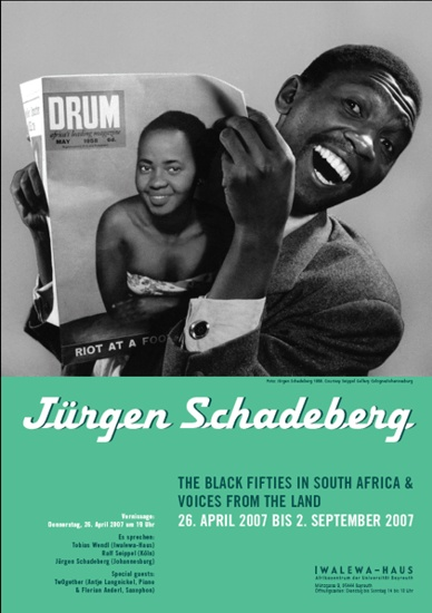 Jürgen SCHADEBERG :: The Black Fifties in South Africa & Voices from the Land