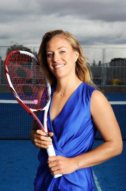 теннис кербер фото