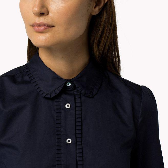 Tommy Hilfiger Hemdkleid Aus Baumwolle - peacoat (Blau) - Tommy Hilfiger Kleider - detail-Bild 2