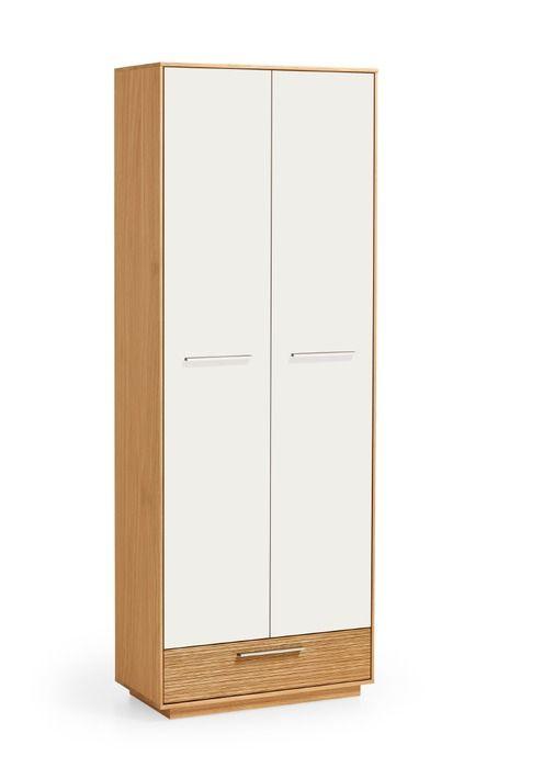 Voss Mobel Garderobenschrank Loveno Weiss Holz In 2020 Garderobe
