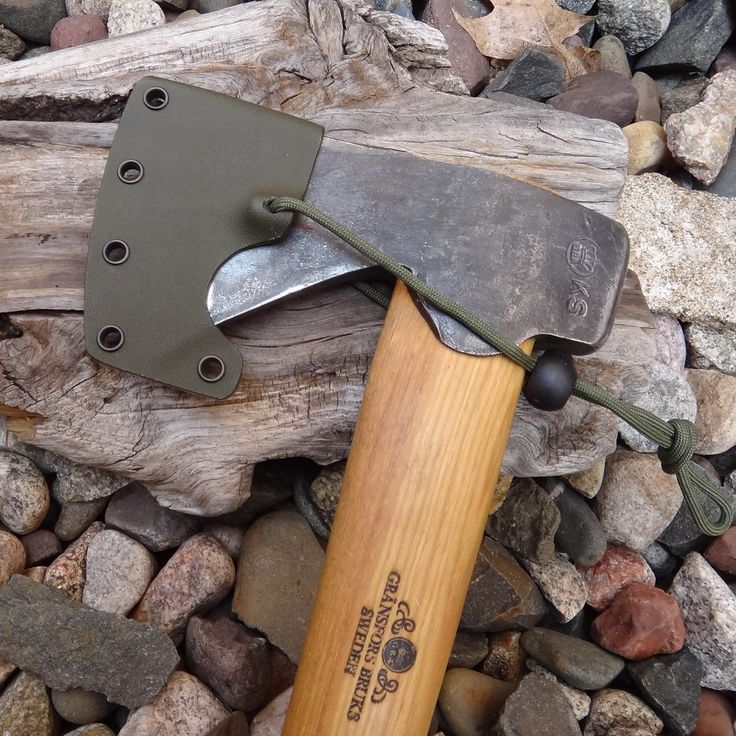 Gransfors Bruk Hunters Axe Custom KYDEX Blade cover