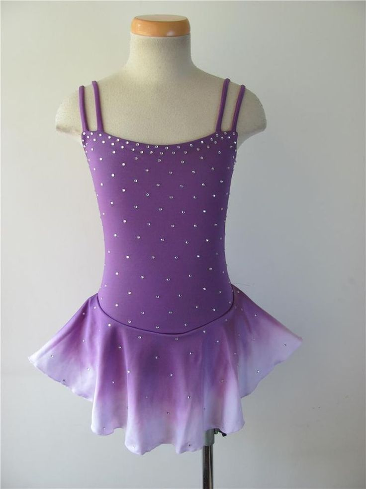 Nice custom Figure skating Competition dress 5508-2
