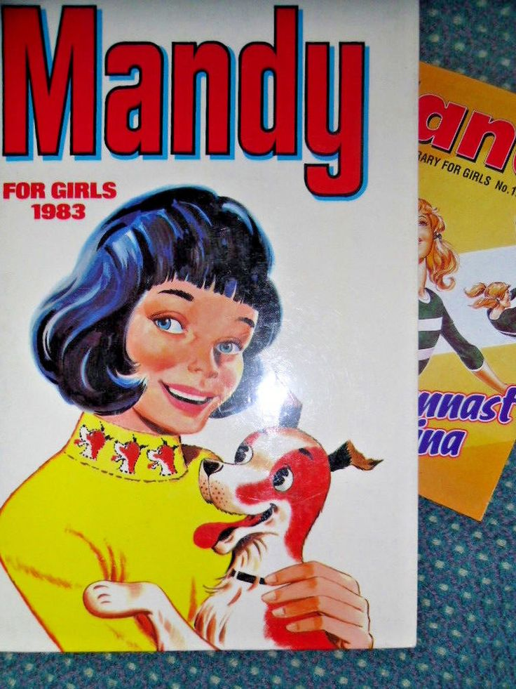 Mandy for girls 1983 Childrens books - Used