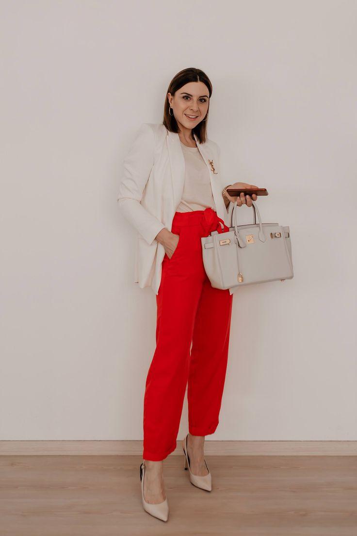 Wie kann man eine Paperbag Hose kombinieren? 5 Outfit-Ideen für Alltag und Büro!