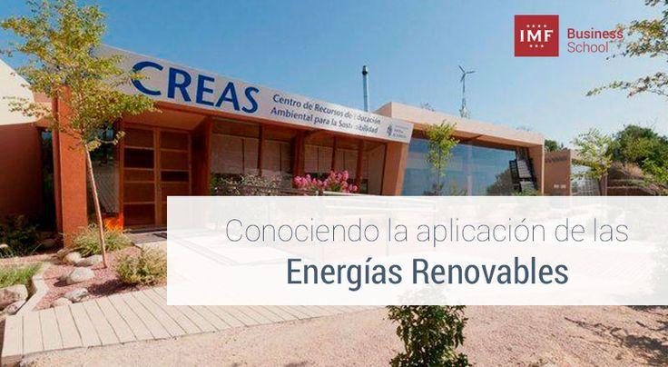 Estudiantes del Máster en Energías Renovables de IMF Business School visitan al Centro de Recursos de Educación Ambiental para la Sostenibilidad (CREAS).