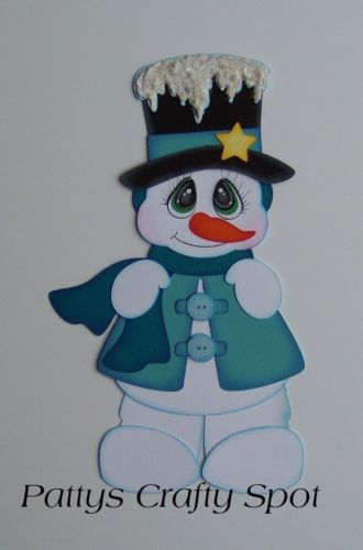 TOCG Snowman Christmas Paper Piecing by Patty
