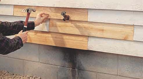How To Repair Vinyl Wood Or Cementboard Siding Home
