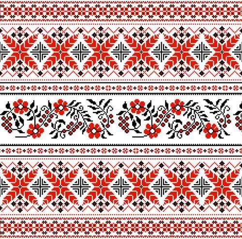 Украинские орнаменты - Векторный клипарт | Ukrainian ornaments - Stock Vectors