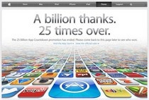 25 billion downloads and counting: the App Store #applemakesalotofmoney