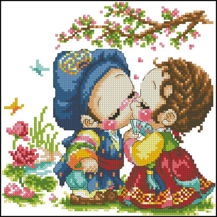 cross stitch pattern precious moment - Google Search
