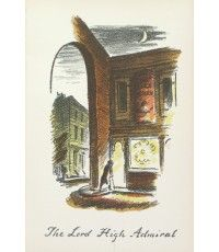The Lord High Admiral From The Local, a series of lithographs depicting London pubs.