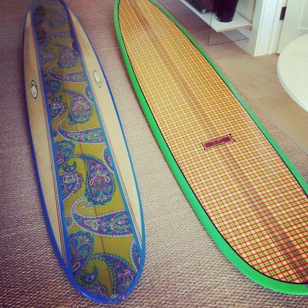 Surfboard Laminates Printing