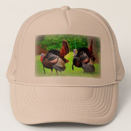 Wild Turkey Hat trucker hat gifts hunting Trucker Hat - fathers day best dad diy gift idea cyo personalize father family