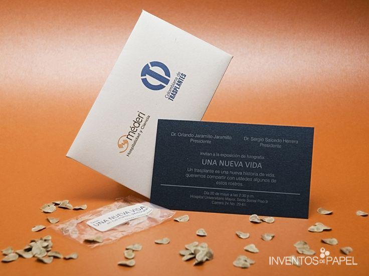 Invitación Evento Empresarial - Lanzamiento producto
