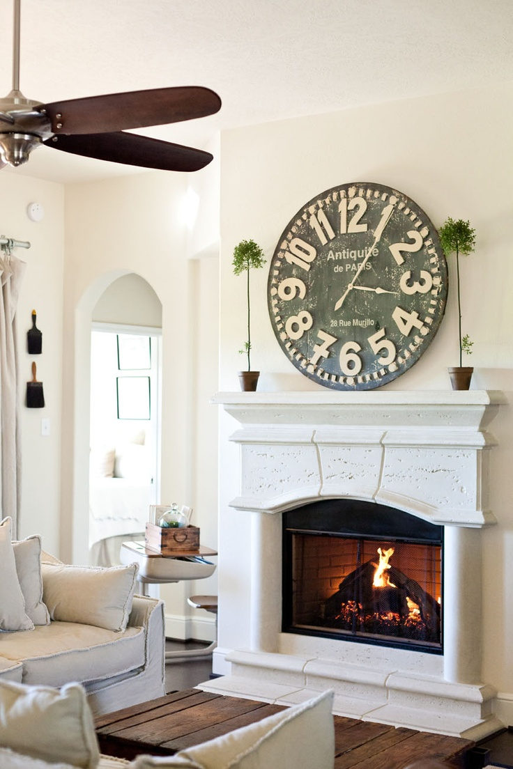 1000 images about large wall clock decor on pinterest wall of clocks vintage clocks and. Black Bedroom Furniture Sets. Home Design Ideas