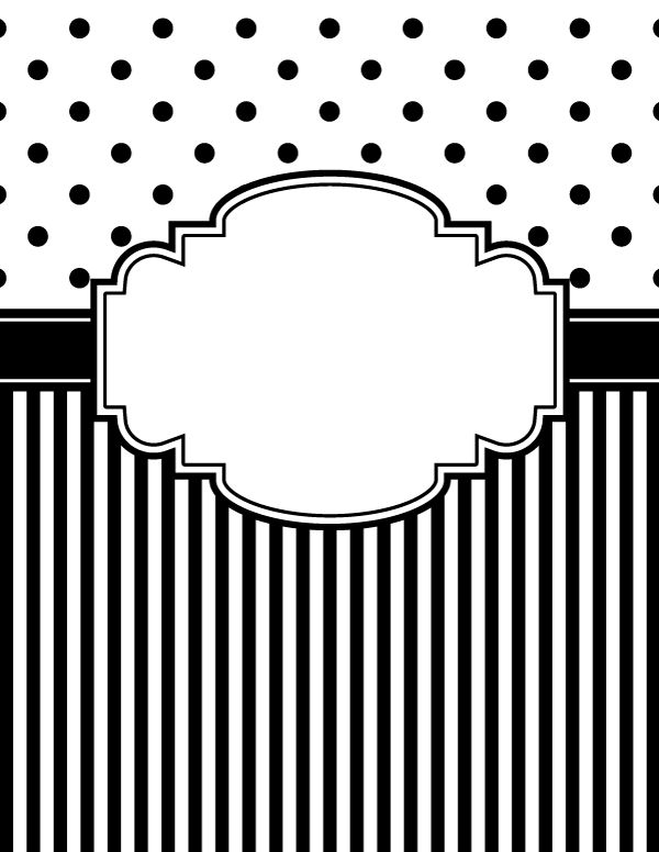 Recipe Book Cover Black And White ~ Best ideas about binder covers on pinterest