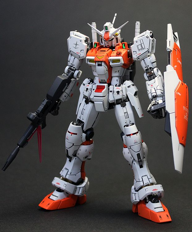 RG 1/144 RX-78 Gundam GP-01 Zephyranthes - Painted Build