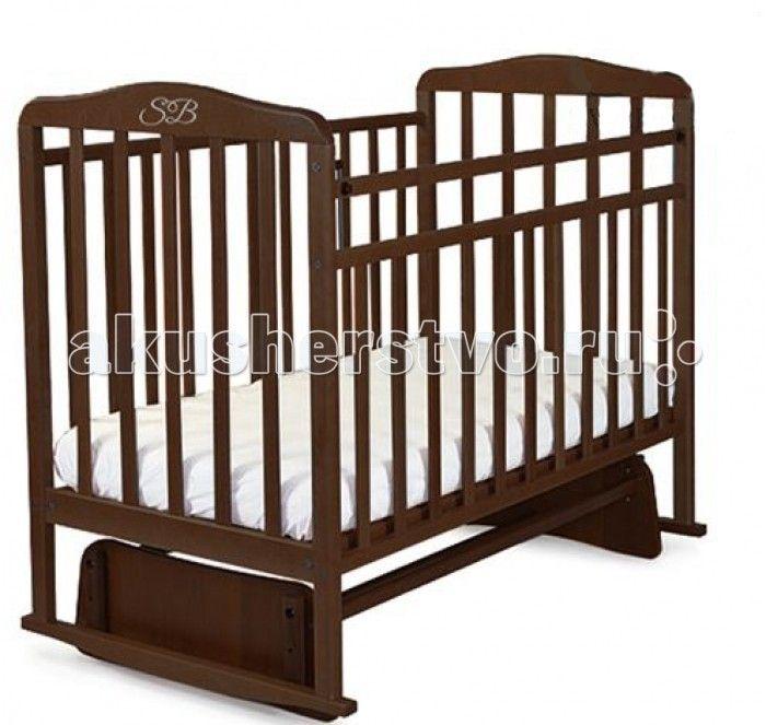 Детская кроватка Sweet Baby Ennio маятник поперечный  Детская кроватка Sweet Baby Ennio маятник поперечный станет прекрасным украшением для комнаты Вашего малыша.  Особенности: Поперечный маятник повторяет принцип люлек, которыми пользовались еще наши бабушки. Так же, он подойдет для небольших детских комнат. Кроватка оснащена специальными фиксаторами, которые приводят маятник в состояние покоя. Два уровня ложа позволяют менять глубину кроватки по мере роста малыша, опускаемая планка поможет…